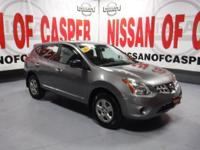 This 2013 Nissan Rogue  has a L4, 2.5L high output