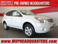 2013 Nissan Rogue S AWD. One owner, clean condition and