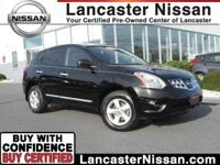 Our CarFax One Owner 2013 Nissan Rogue S AWD in Black