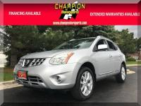 Options:  2013 Nissan Rogue Sv Awd 4Dr|Champion