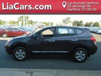 2013 Nissan Rogue in Cayenne Red Pearl. AWD. Fuel