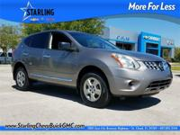 2013 Nissan Rogue S ALLOY WHEELS, SECURITY SYSTEM,