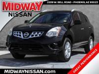 New Price!2013 Nissan Rogue SV Super Black 2.5L I4 DOHC
