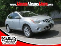 CARFAX One-Owner. Brilliant Silver 2013 Nissan Rogue SL