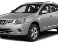 CARFAX One-Owner. Gray 2013 Nissan Rogue SV AWD CVT