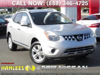 Options:  2013 Nissan Rogue Sv|Silver|Check Out This