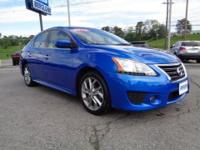 2013 Nissan Sentra SR sedan with the lower ground