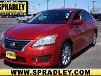 2013 Nissan Sentra 4dr Car SR Our Location is: Spradley