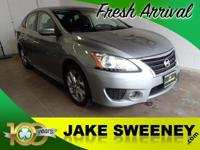 Meet our 2013 Nissan Sentra SR sedan that's stunning in