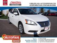 Nissan Certified, CVT with Xtronic, Cloth, ABS brakes,