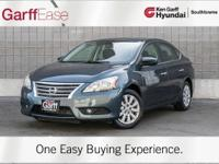 CARFAX One-Owner. Graphite Blue 2013 Nissan Sentra FE+