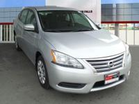 Brilliant Silver 2013 Nissan Sentra SV FWD CVT with