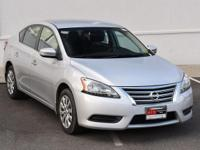 Brilliant Silver 2013 Nissan Sentra S FWD CVT with