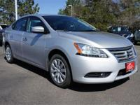 Meet our 2013 Nissan Sentra SV sedan shown proudly in a