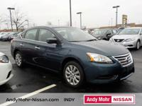 LOW MILES ON A GREAT SENTRA WITH HIGH MPG CVT with
