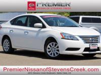 CARFAX One-Owner. Certified. White 2013 Nissan Sentra
