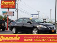 This 2013 Nissan Sentra SV in Super Black features.
