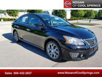 This Sentra is Nissan Certified Pre-Owned! It's Nicely