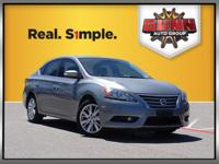 Nissan Sentra 30/39mpg CARFAX One-Owner. CVT with