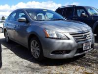 Sentra SL, Heated Front Seats, and Leather Appointed