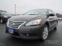 This 2013 Nissan Sentra with less than 40,000 miles is