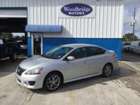 Options:  2013 Nissan Sentra Sr|Brilliant Silver|**One