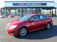 Land a good deal on this 2013 Nissan Sentra SR while we