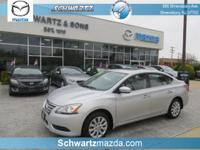 This Nissan Sentra SV  has many valuable options,