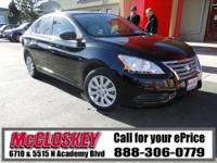 ONE OWNER & ONLY 31K Miles!! This 2013 Nissan Sentra