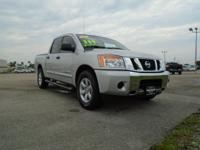 2013 Nissan Titan Crew Cab, SV, Alloy Wheels, Power