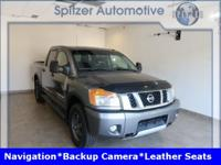 Nissan Titan PRO Clean CARFAX. Clean Carfax, Back Up