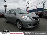 CARFAX One-Owner. Clean CARFAX. Gray 2013 Nissan Versa