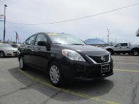 Options:  2013 Nissan Versa 4D Sedan Sv|Black|Fwd|4-Cyl