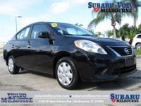 LOCALLY OWNED 2013 NISSAN VERSA SV**CLEAN CAR FAX**TWO