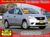 Options:  2013 Nissan Versa S|||65694 Miles|Vin: