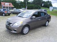 2013 Nissan Versa SV, only has 15k miles on it. Super