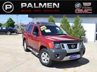 Lava Red 2013 Nissan Xterra S 4WD 5-Speed Automatic