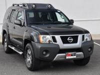 CARFAX One-Owner. Super Black 2013 Nissan Xterra PRO