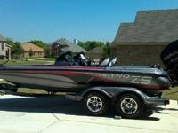 2013 Nitro has Mercury 250 ProXS with a stainless prop