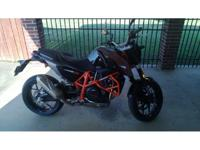 2013 KTM 690 Duke, Brand brand-new 690 duke, less then