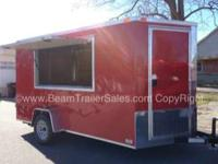 2013 Other New 7x12 VNose Concession/Vending Style