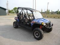 THIS IS A 2013 POLARIS RZR 4 800CC. THIS RZR IS USED