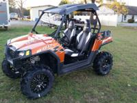 very nice 2013 Polaris RZR 800 Limited Edition. It has