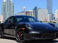 A very heavily equipped 2013 Porsche 911 S Coupe with