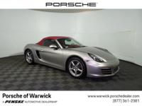 2013 Porsche Boxster Base Factory maintenance up to