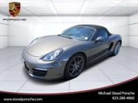 2013 Porsche Boxster For Sale.Features:Rear Wheel