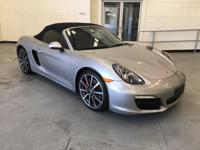 Check out this gently-used 2013 Porsche Boxster we