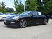 Black 2013 Porsche Panamera 7-Speed Porsche