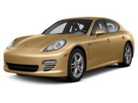 Options:  2013 Porsche Panamera |Miles: 33321Color: