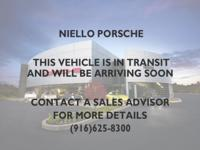 Porsche Certified Pre-Owned!! Four-Zone Climate
